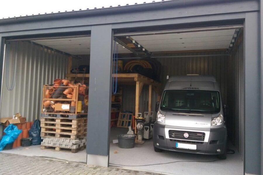 Garagen & Lagerpark Doppelgarage - Lagerraum - Stellplatz - Breit 52m²