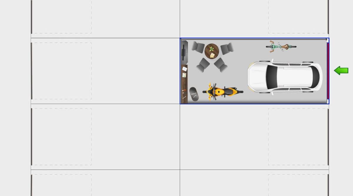 GuLP Typ A - Einzelgarage - Lagerraum mit 26m² Nutzfläche