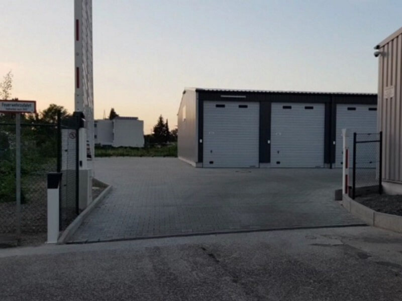 GULP Garagen & Lagerpark Jede Einheit mit eigenem 230-V Stromanschluss