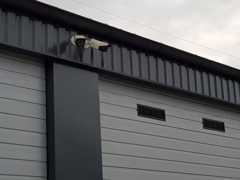 GULP Garagen und Lagerpark die Anlage wird 24/7 videoüberwacht