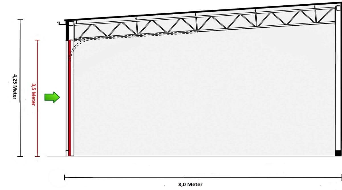 Lagerraum - Garage - Stellplatz - doppelt - links
